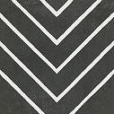 Apavisa Encaustic 2.0 Coal decor lappato 30x30