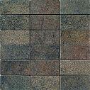Apavisa Quartzstone Deco Grafito lappato mosaico 5x10