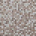 Casalgrande Padana Architecture Dark Brown Mosaico D 30x30