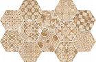 Ragno Epoca Decoro Cementine Rosa 21x18.2