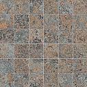 Refin Petrae Muschelkalk Brown Mosaico R 30x30 Matt