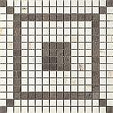 Ragno Bistrot Mosaico Decor Cremo Delicato 29x29 Glossy