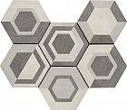 Ragno Rewind Decoro geometrico Vanilla 21x18.2