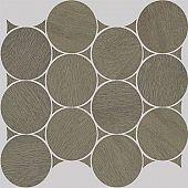 Apavisa Nanoshiba 7.0 Brown natural mosaico circle 30x35