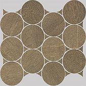 Apavisa Nanoshiba 7.0 Ocre natural mosaico circle 30x35