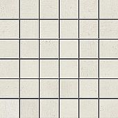 Apavisa Beton white lappato mosaico 5x5