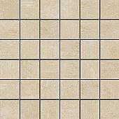 Apavisa Beton beige lappato mosaico 5x5