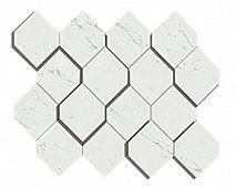 Atlas Concorde Marvel Carrara Pure Mosaico Esagono 3D